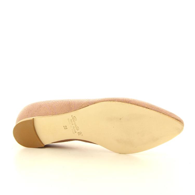 Benoite c damesschoenen ballerina poederrose 13828
