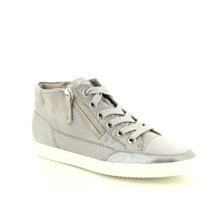 Paul green damesschoenen sneaker grijs 12935