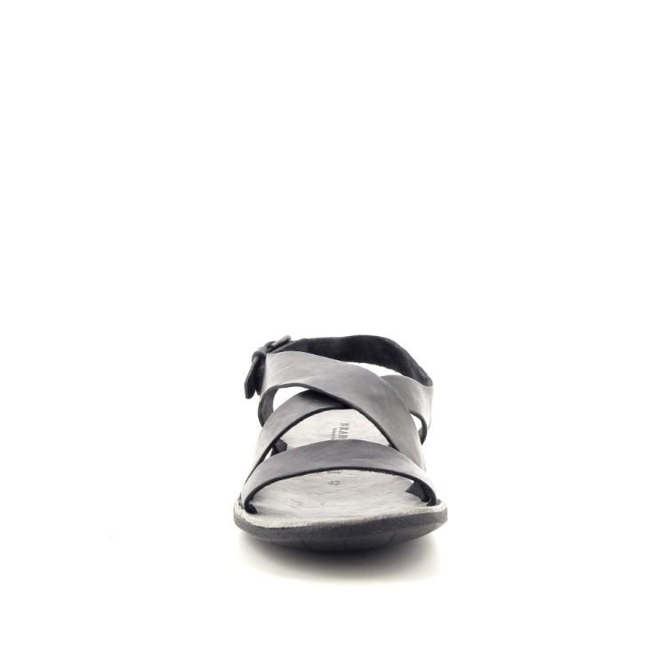 Brador herenschoenen sandaal zwart 183276