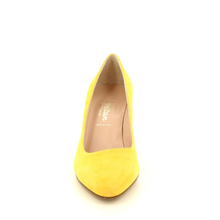 Voltan damesschoenen pump geel 12560