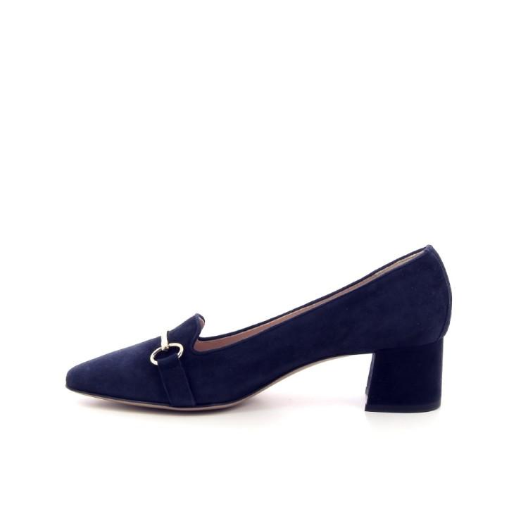 Voltan damesschoenen mocassin donkerblauw 191205