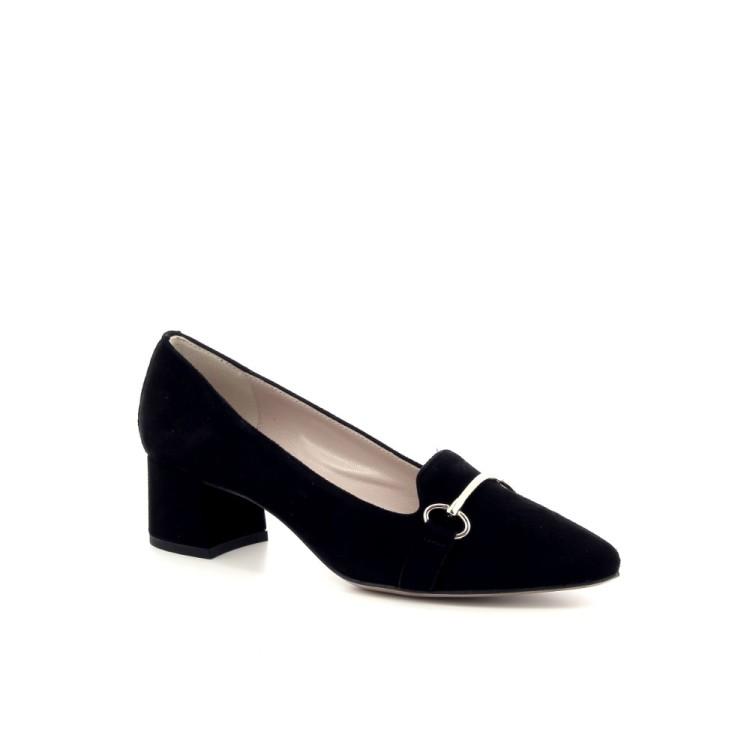 Voltan damesschoenen mocassin zwart 191206