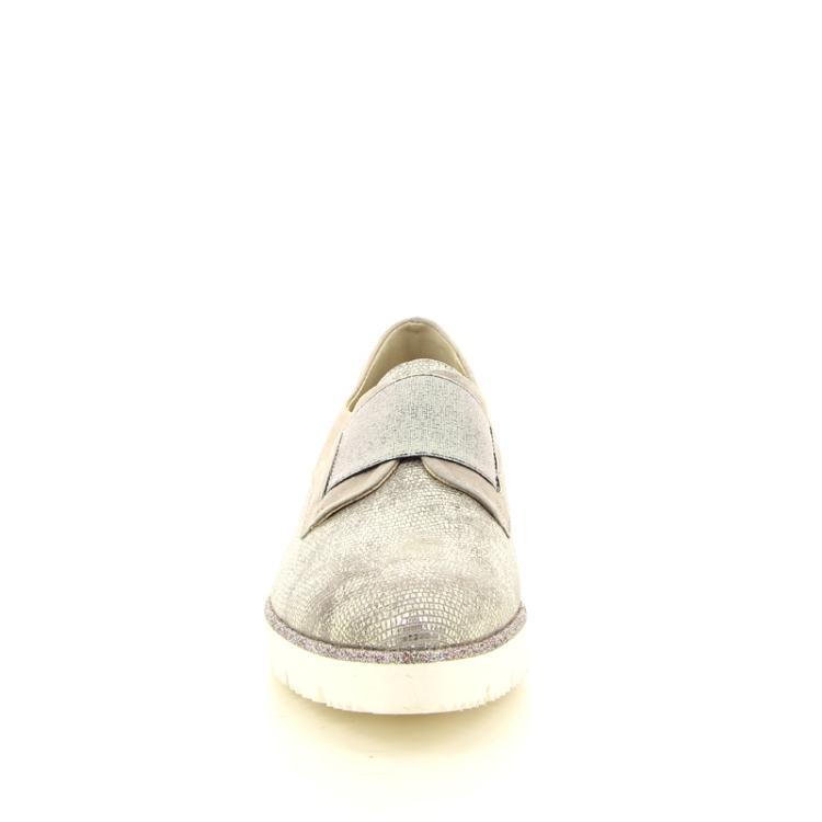 J'hay damesschoenen mocassin grijs 11412