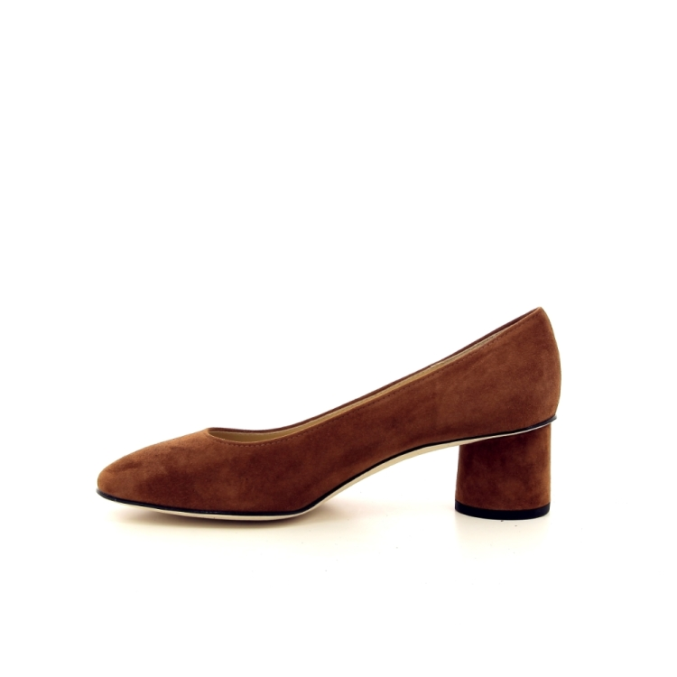 Brunate damesschoenen pump cognac 195740