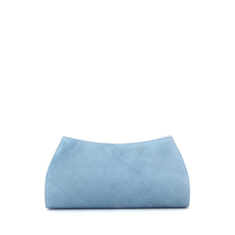 Lebru tassen handtas lichtblauw 186434
