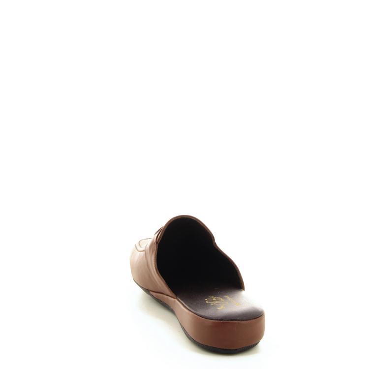 Crb herenschoenen pantoffel naturel 21578