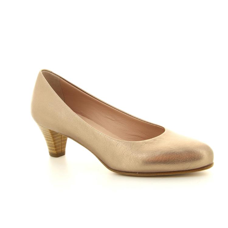 Voltan damesschoenen pump licht brons 97698