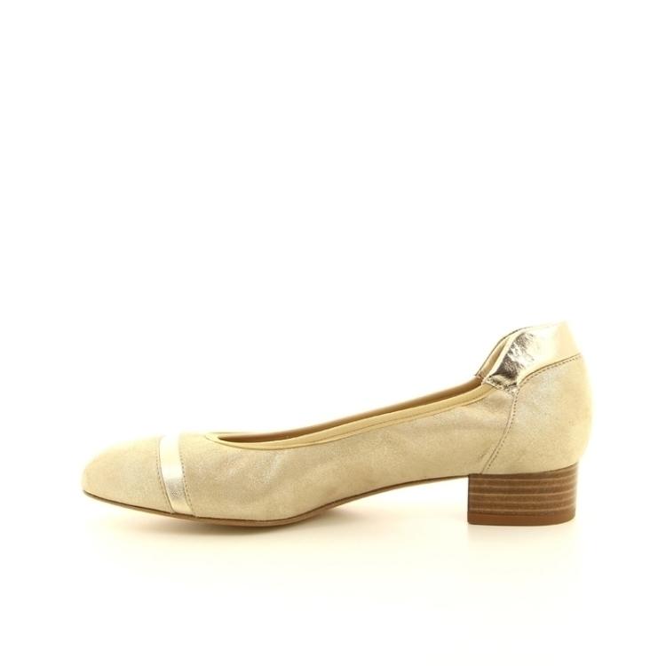 Voltan damesschoenen ballerina goud 168006