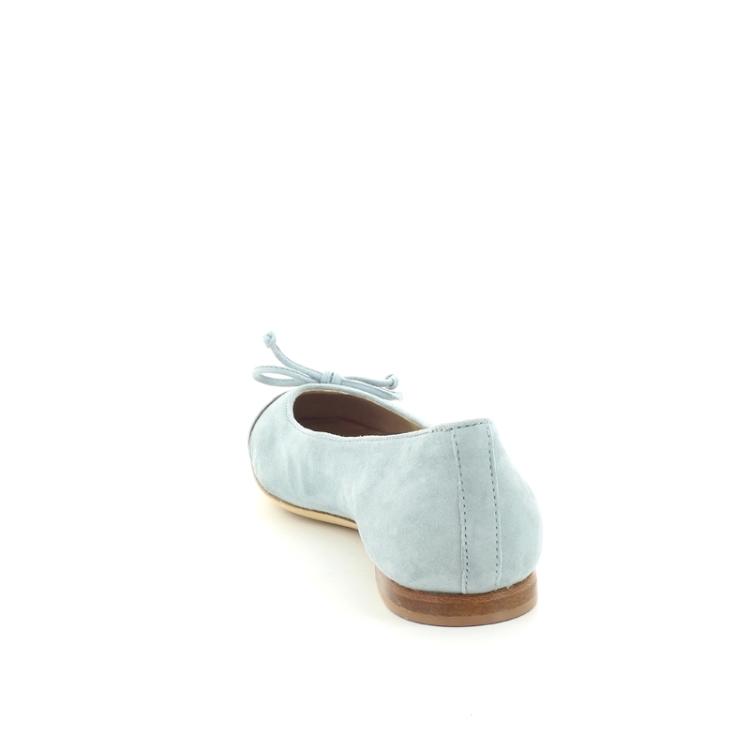 Agl damesschoenen ballerina lichtblauw 87253