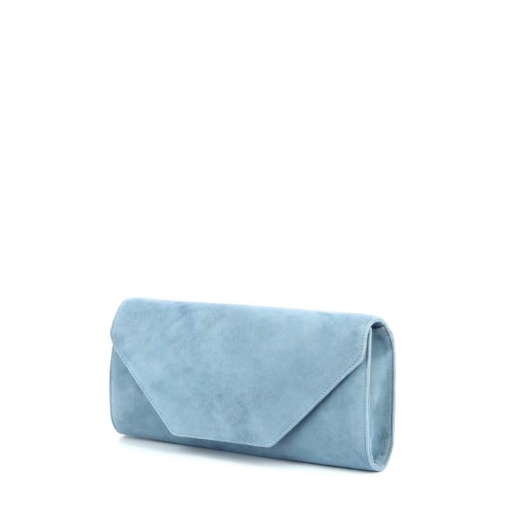 Lebru tassen handtas lichtblauw 186510