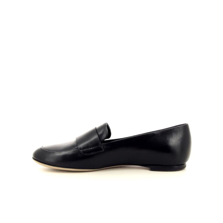 Agl damesschoenen mocassin zwart 192395