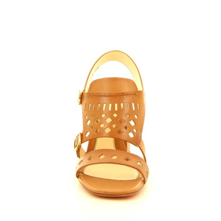 Santoni damesschoenen sandaal naturel 12180