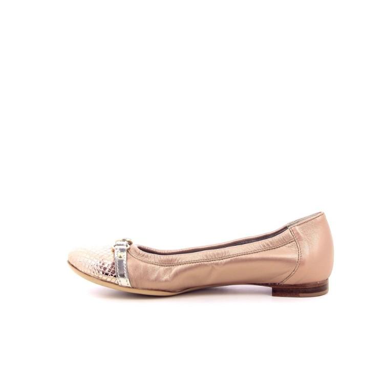 Agl damesschoenen ballerina poederrose 192416