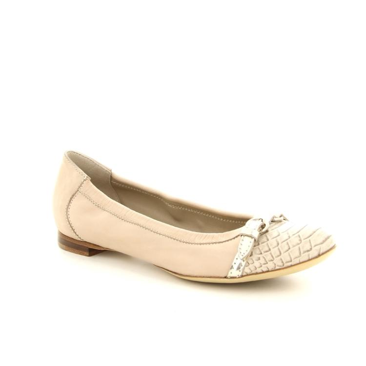 Agl damesschoenen ballerina poederrose 86317
