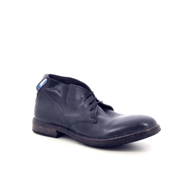 Mo ma herenschoenen boots blauw 189007