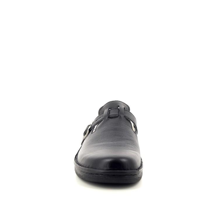 Berkemann herenschoenen pantoffel zwart 192643