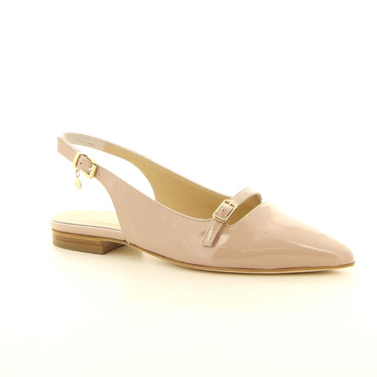 Siton damesschoenen sandaal poederrose 14163