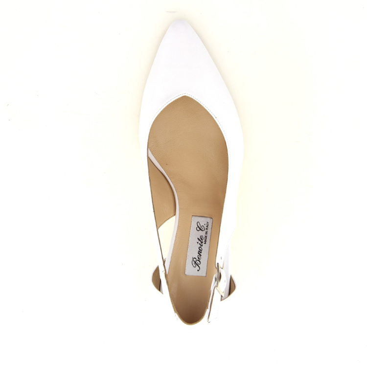 Benoite c damesschoenen pump wit 13841