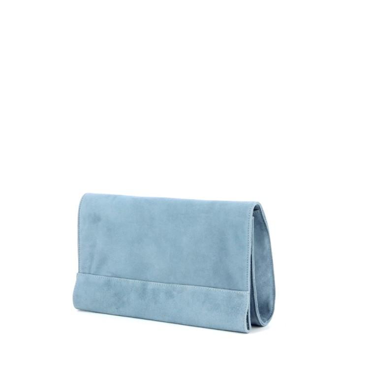 Lebru tassen handtas lichtblauw 186386