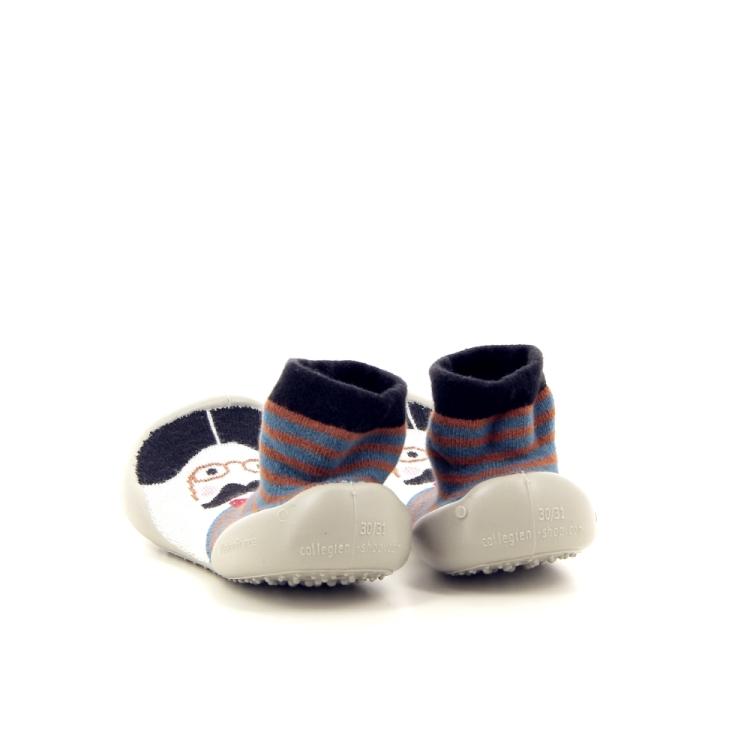 Collegien kinderschoenen pantoffel bruin 177193