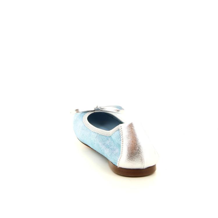 Eli kinderschoenen ballerina turquoise 10473