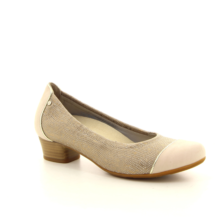 Footnotes damesschoenen pump goud 11389