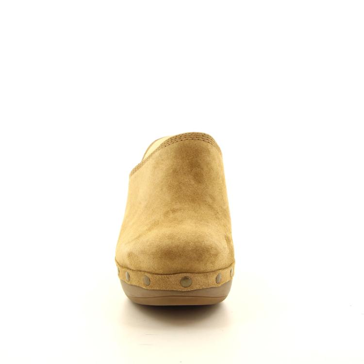 Paul green damesschoenen muiltje camel 12899