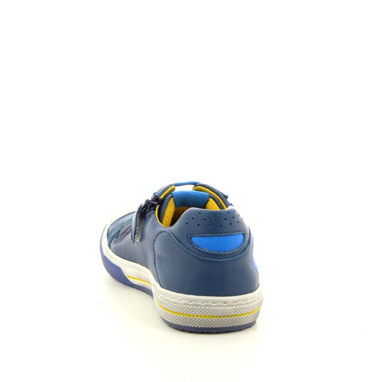 Romagnoli kinderschoenen veterschoen blauw 11153