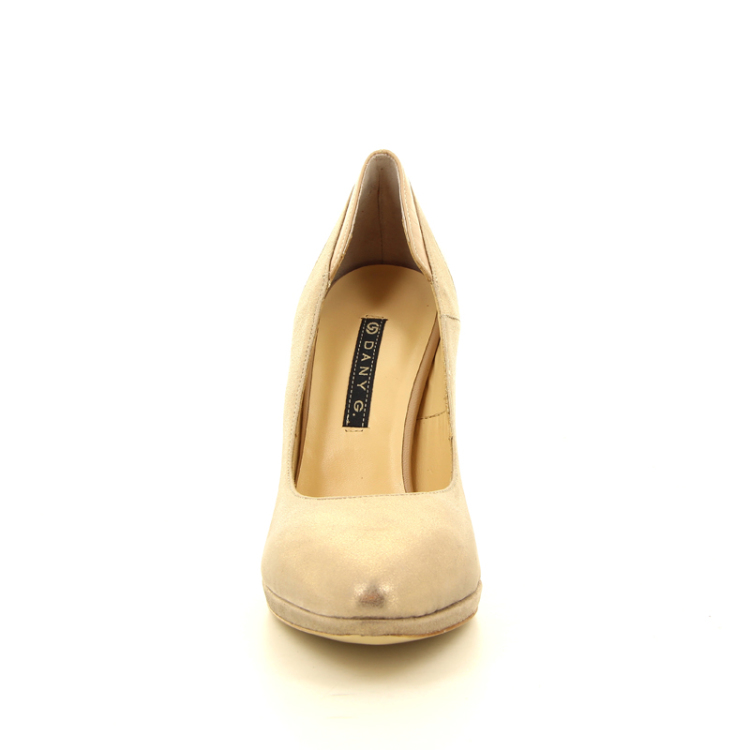 Dany g damesschoenen pump goud 12677