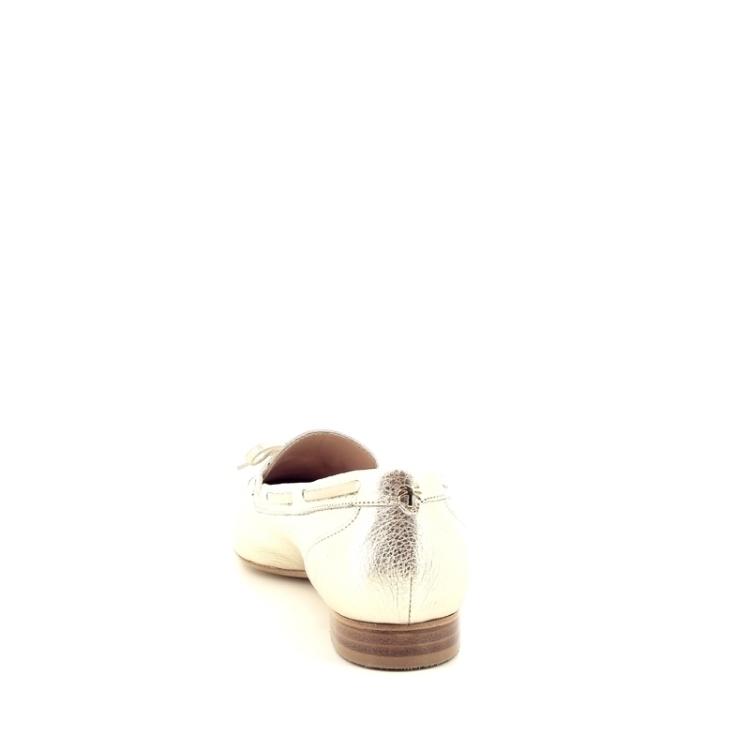 Voltan damesschoenen mocassin platino 172189
