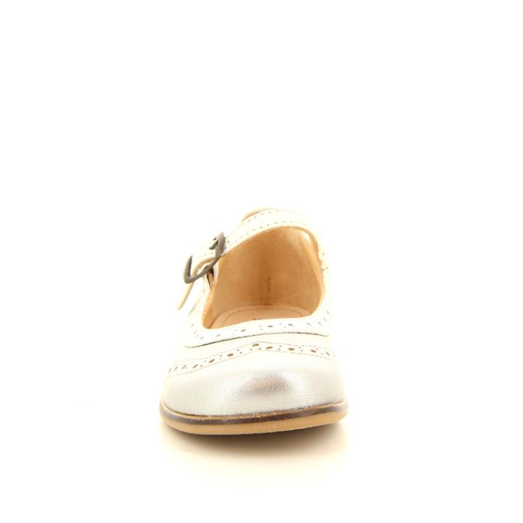 Ocra kinderschoenen ballerina zilver 10161