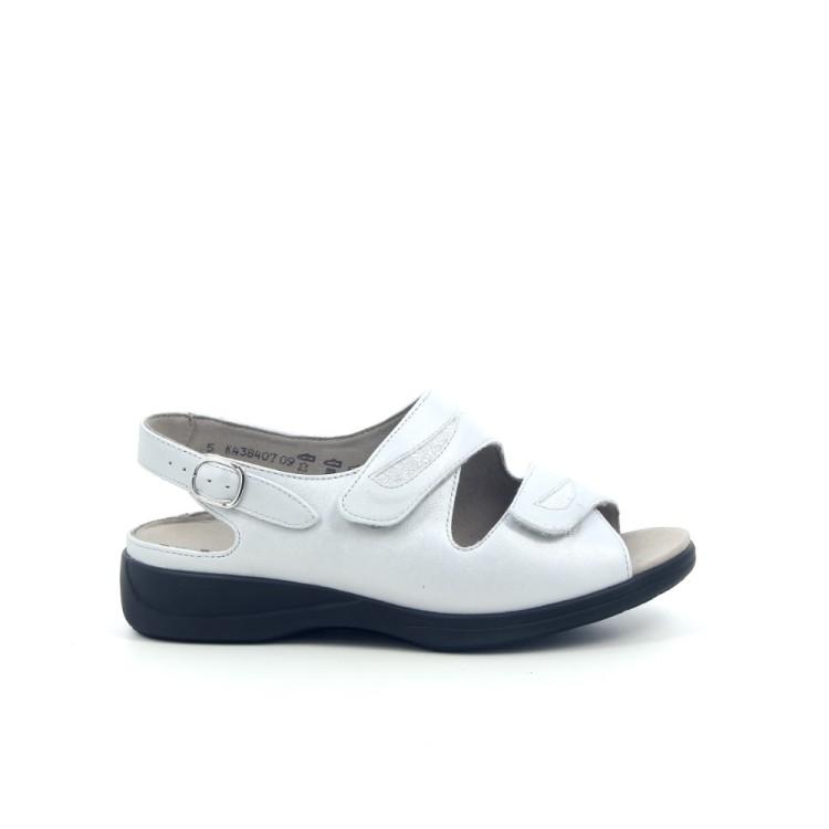 Solidus damesschoenen sandaal lichtgrijs 182126