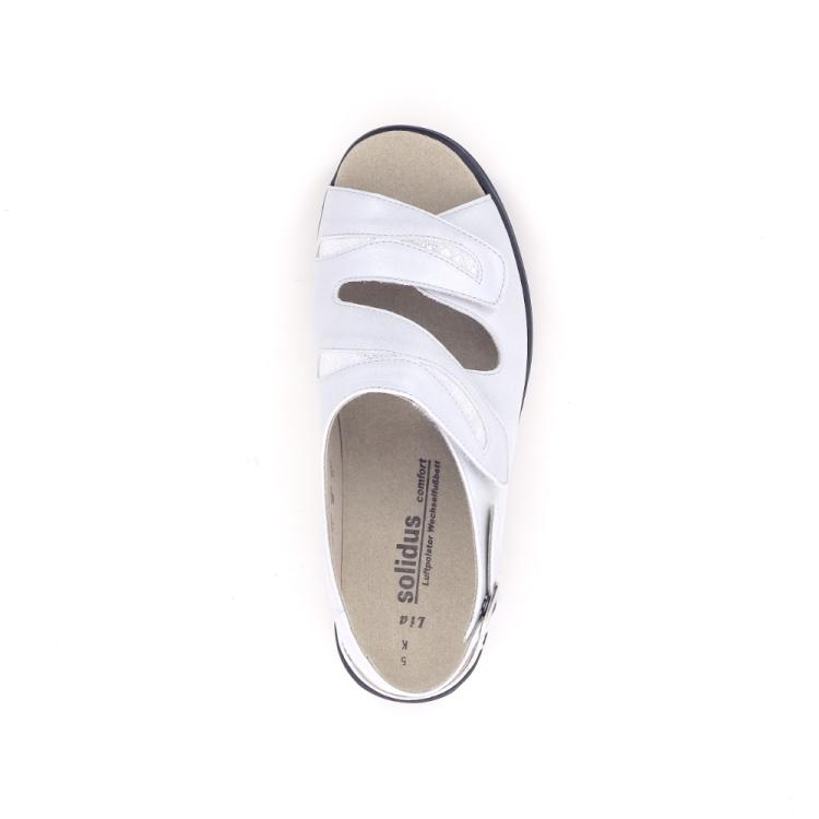 Solidus damesschoenen sandaal wit 192623