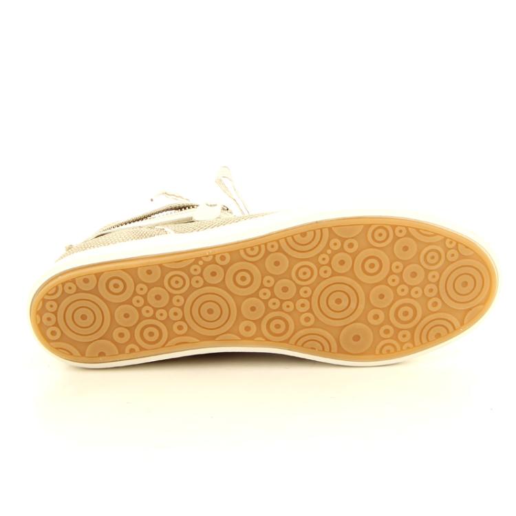 Footnotes damesschoenen sneaker taupe 11407