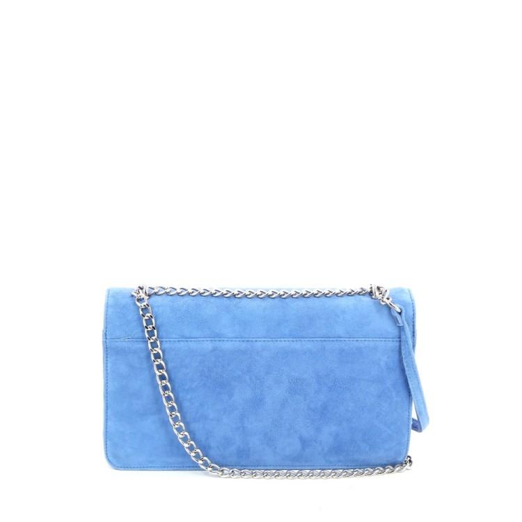 Lebru tassen handtas azuurblauw 197071