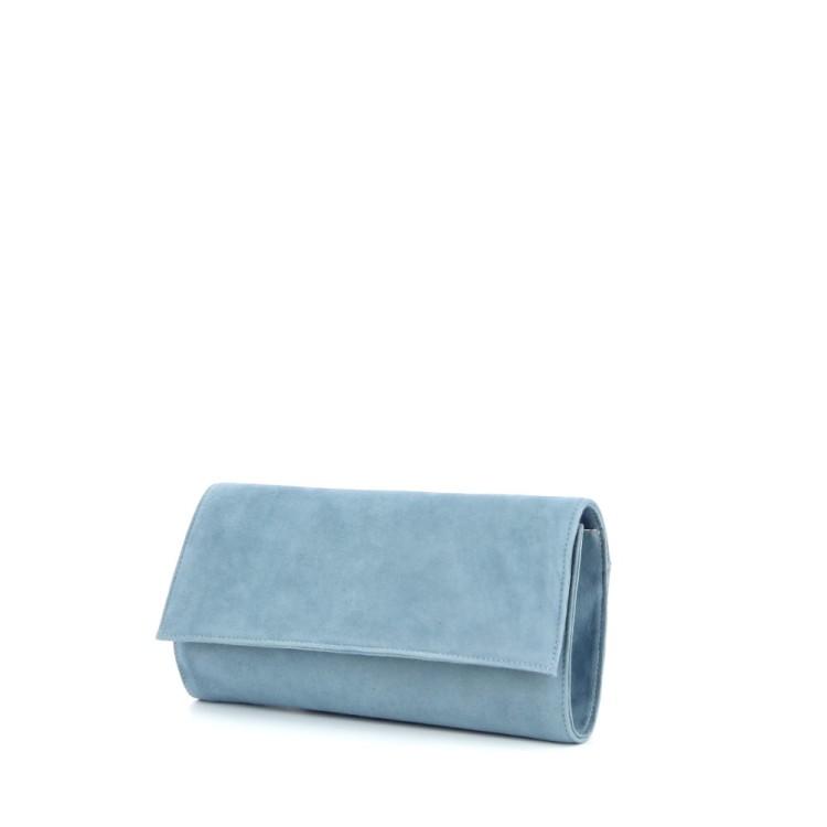 Lebru tassen handtas lichtblauw 186507