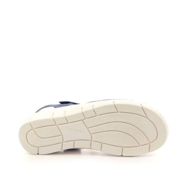 Solidus damesschoenen sandaal blauw 192614