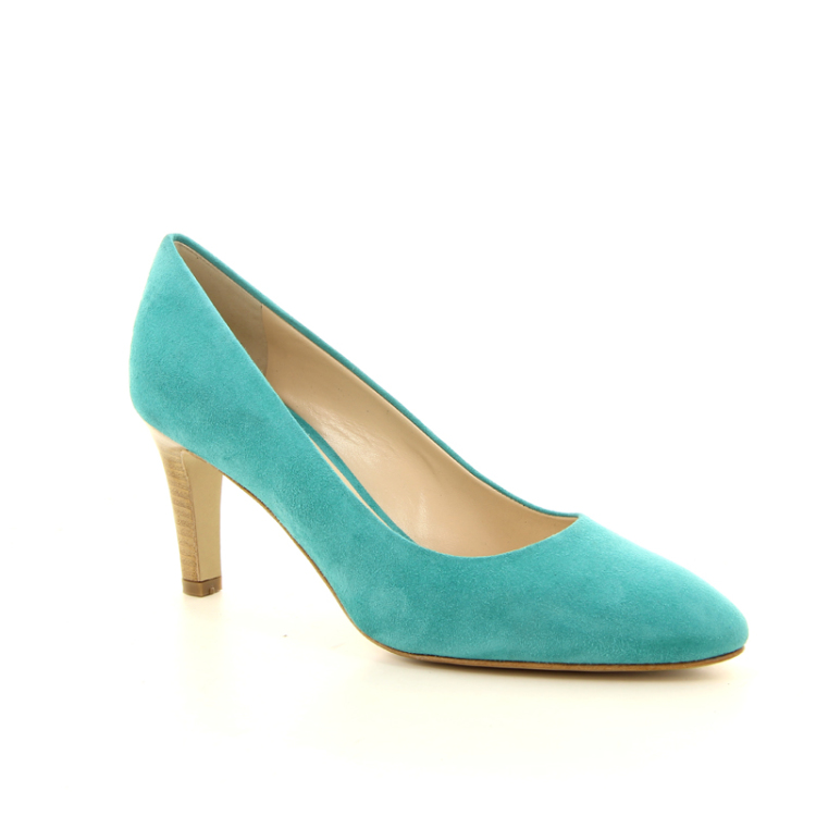 Moonflower damesschoenen pump turquoise 13228