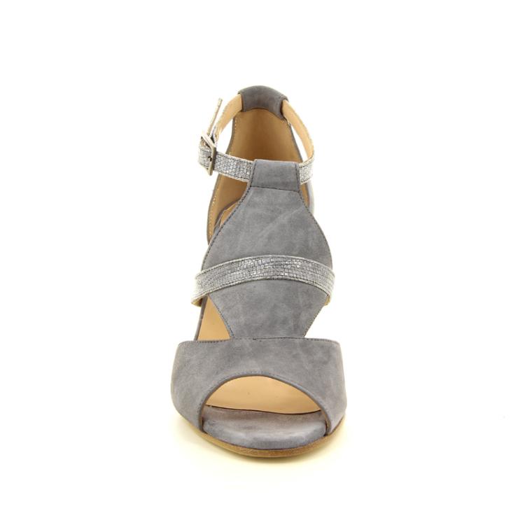 Benoite c damesschoenen sandaal lichtgrijs 13802