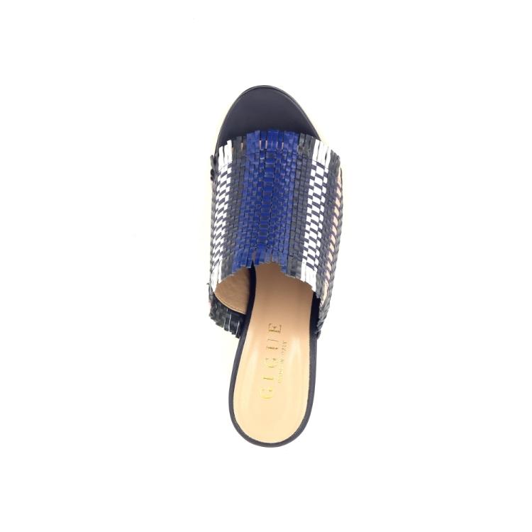 Gigue damesschoenen sleffer blauw 195315