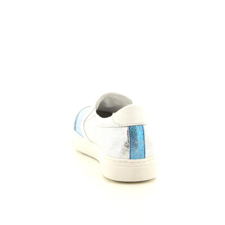 Bi key kinderschoenen mocassin turquoise 10903