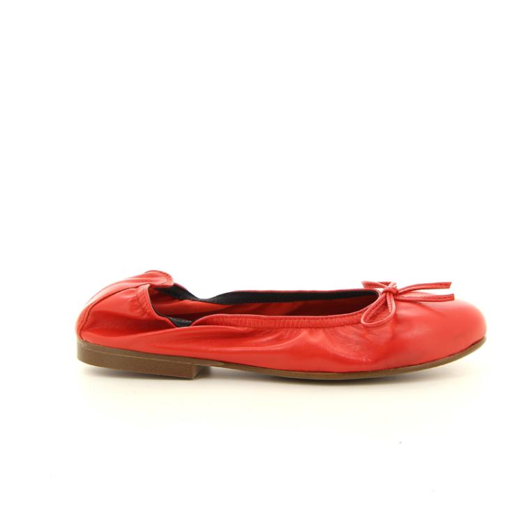 Eli kinderschoenen ballerina koraalrood 10491