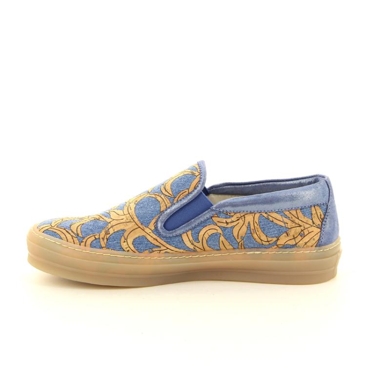 Agl damesschoenen sneaker jeansblauw 98844