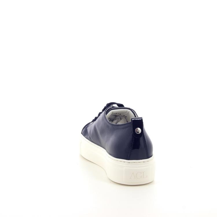 Agl damesschoenen sneaker donkerblauw 191792