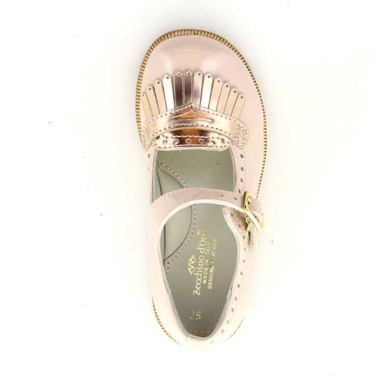 Zecchino d'oro kinderschoenen ballerina poederrose 11168