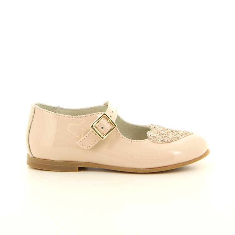 Zecchino d'oro kinderschoenen ballerina poederrose 11172