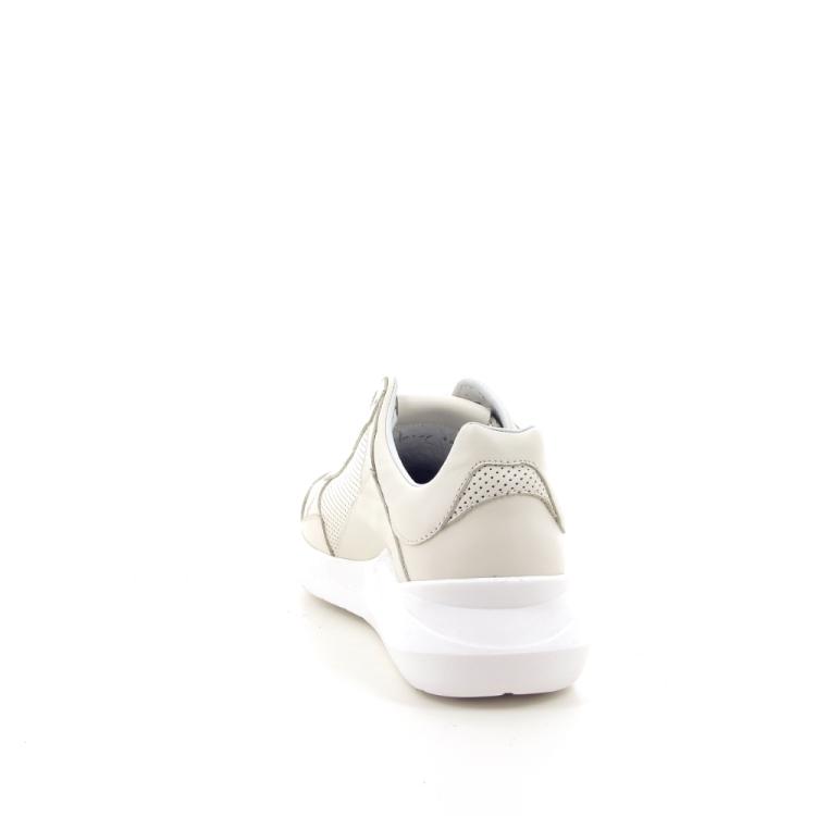 Matt damesschoenen sneaker ecru 193571