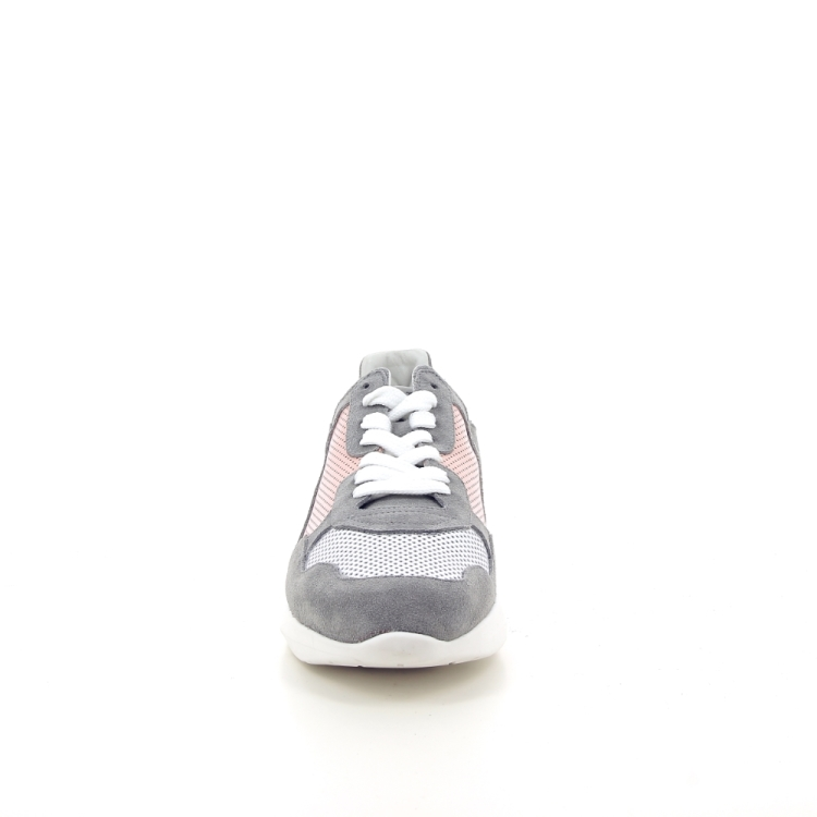 Matt damesschoenen sneaker grijs 193572