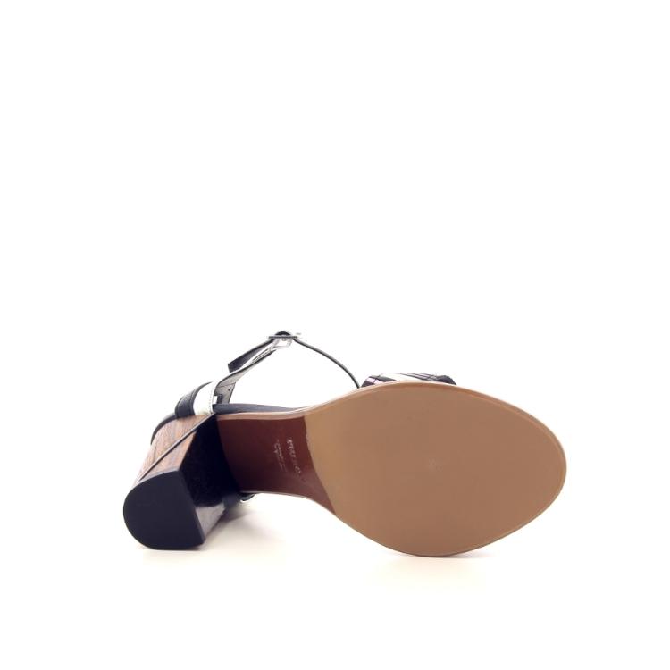 Thiron damesschoenen sandaal zwart 195054