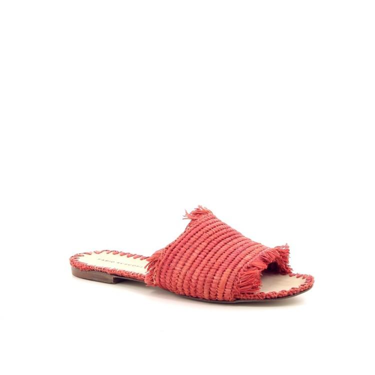 Fabio rusconi damesschoenen sleffer koraalrood 195210